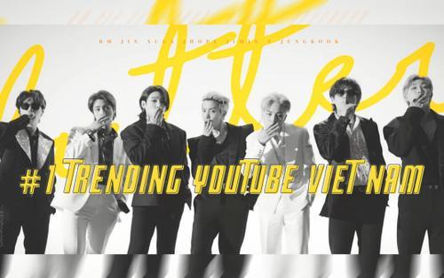 Vượt mặt Đen Vâu, Sơn Tùng: Butter của BTS thẳng tiến #1 trending Youtube Việt Nam