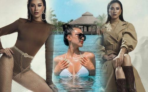 Á hậu Kim Duyên luyện tập đến ói mửa, hé lộ điều sẽ mang đến Miss Universe 2021