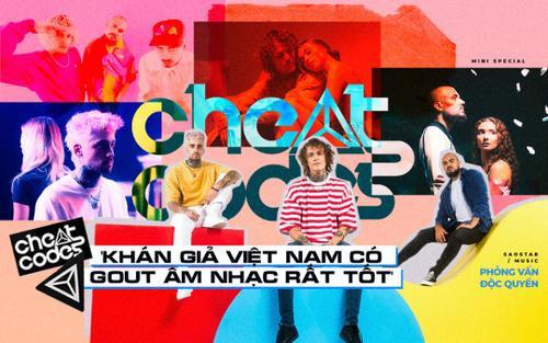 Phỏng vấn độc quyền nhóm nhạc Cheat Codes: 'Khán giả Việt Nam có gout âm nhạc rất tốt'