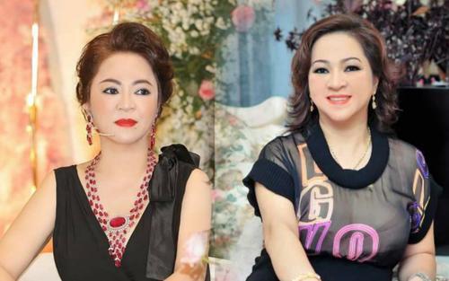 Không thua bất cứ sao Vbiz nào, bà Phương Hằng liên tục khoe vòng 1 khi livestream