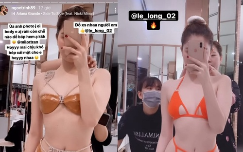 Ngọc Trinh tự đăng ảnh diện bikini tí hon, body không qua chỉnh sửa liệu còn 'nuột'?