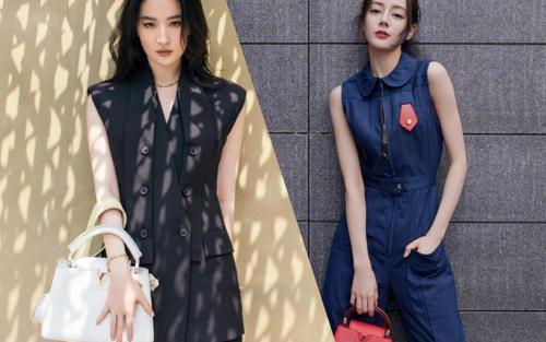 Lưu Diệc Phi lấn át Địch Lệ Nhiệt Ba trong loạt ảnh thời trang mới nhất chứng minh vị trí độc tôn