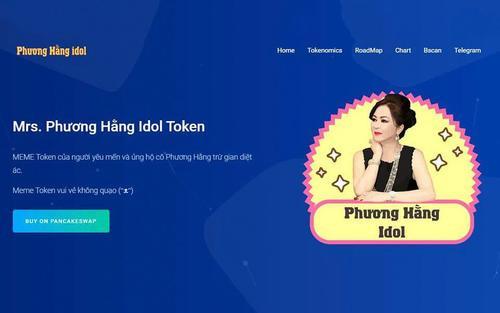 Xuất hiện tiền ảo mang tên bà Phương Hằng