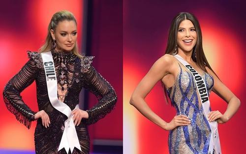 'Hít drama' ở Miss Universe 2020: Đại diện Chile mới là 'thánh chơi dơ' khi cắt váy của Colombia