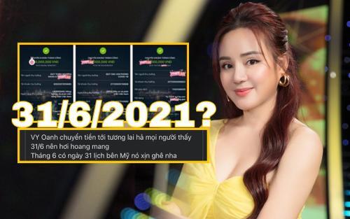 Khoe việc đóng góp từ thiện, Vy Oanh 'gây lú' vì 'quyền năng' chuyển tiền đến tương lai?