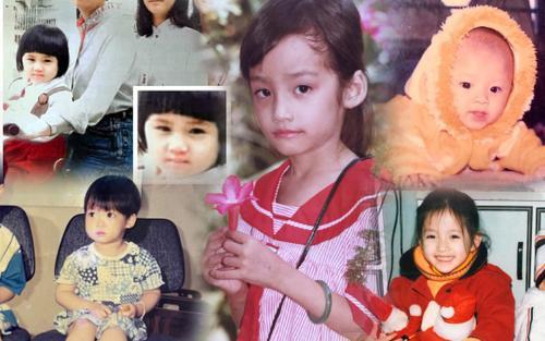Đỗ Hà - Lương Thùy Linh - Tường San: Các nàng hậu 10X khoe ảnh 'xinh đẹp từ bé' là có thật