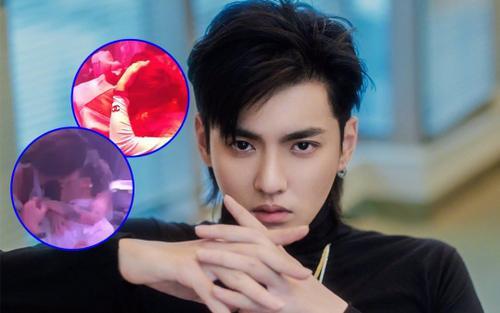 Thực hư clip Ngô Diệc Phàm ôm hôn cuồng nhiệt 2 cô gái lạ trong bar giữa scandal 'tra nam'?