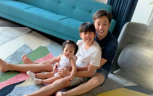 Ở nhà tránh dịch, Đàm Thu Trang than thở vì phải trông nom tận '3 đứa trẻ'