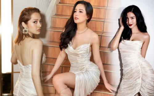 'Cuộc chiến váy áo' của Mai Phương Thúy, Hoàng Thùy, Bảo Anh, mỹ nhân nào sáng nhất?