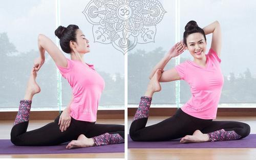 Hoa hậu Nguyễn Thu Thủy đam mê tập luyện không chỉ để giữ dáng mà còn 'truyền lửa' cho bao người