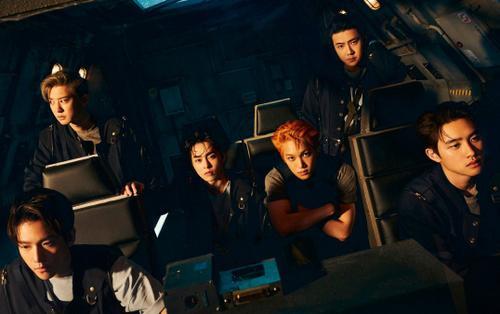 EXO trở thành nhóm nhạc thứ 3 đạt được thành tích này cùng BLACKPINK và BTS