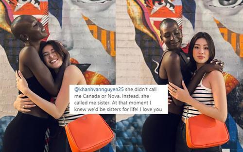 Hoa hậu Canada: 'Ngày đầu tiên gặp Khánh Vân, chúng tôi đã biết mãi mãi là chị em suốt đời'