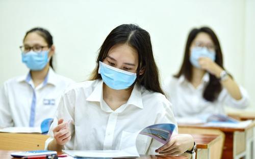 Thi vào lớp 10 ở Hà Nội: Thí sinh phải chịu hoàn toàn trách nhiệm nếu không hoàn thành khai báo y tế