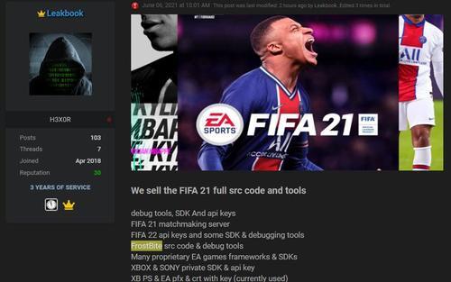 EA bị hacker tấn công, đánh cắp mã nguồn FIFA 21 cùng nhiều tựa game đỉnh khác