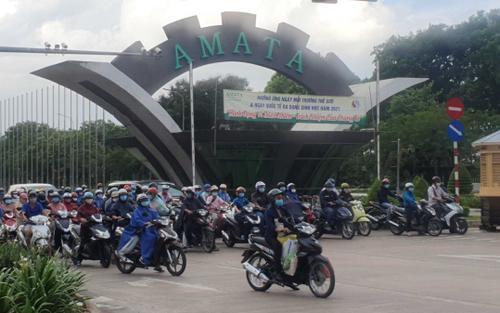 Trường hợp F1 ở TP.HCM làm việc tại khu công nghiệp AMATA Đồng Nai nghi nhiễm COVID-19