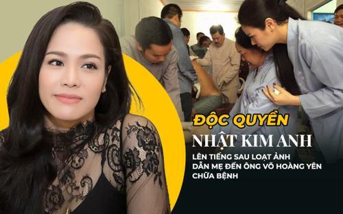 Độc quyền: Nhật Kim Anh lên tiếng sau loạt ảnh dẫn mẹ đến ông Võ Hoàng Yên chữa bệnh được chia sẻ rầm rộ