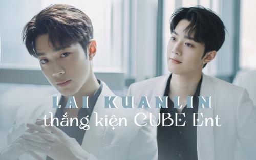 Em út Wanna One Lai KuanLin chính thức thắng kiện sau 2 năm ròng rã, chấm dứt hợp đồng với CUBE Ent