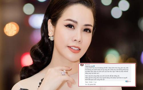 Bị dân mạng chỉ trích không lên tiếng tố ông Võ Hoàng Yên, Nhật Kim Anh đáp trả 'hợp tình hợp lý'