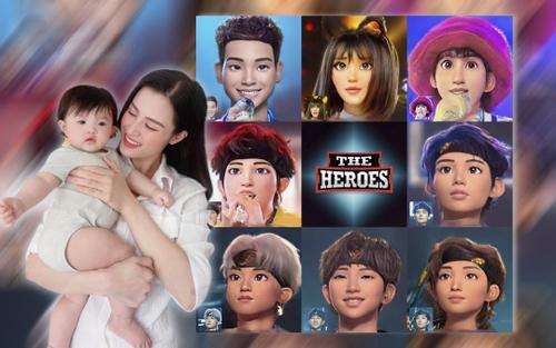 Winnie hóa 'fan cứng' The Heroes, tiếp thêm sức mạnh cho Han Sara và Uni5