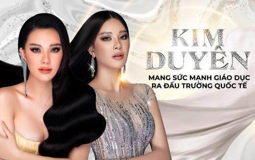 Miss Universe Vietnam 2021 - Kim Duyên: Nàng hậu mang sức mạnh giáo dục ra đấu trường quốc tế