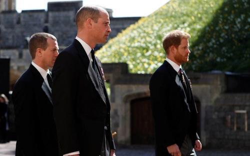 Lý do bất ngờ khiến William và Kate không gặp Harry sau đám tang của Philip