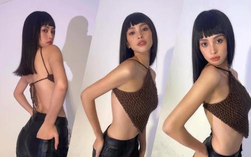 Hoa hậu Tiểu Vy 'sắc bén' khi diện áo yếm khoe trọn rãnh lưng và vòng eo đầy cuốn hút