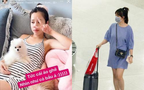Puka gia nhập hội gái xinh bị đồn mang bầu vì lỗi thời trang khó cứu