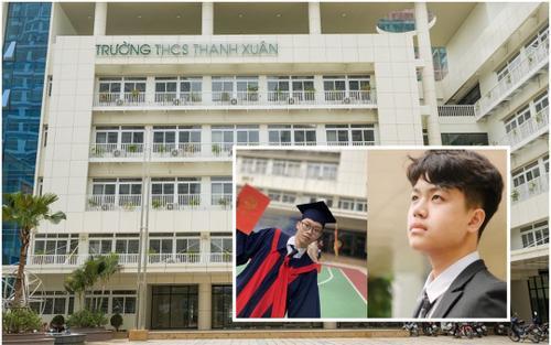 Một trường THCS ở Hà Nội có 57 HS đỗ vào các trường THPT chuyên, nổi bật là 2 thủ khoa chuyên Lý, Hóa