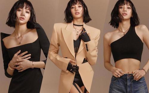 Full toàn tập bộ ảnh thời trang đẹp lồng lộn của Lisa BlackPink trên tạp chí Vogue