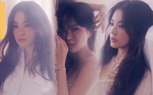 Tạo dáng 'vật vã', vợ cũ Song Joong Ki: 'Tôi chỉ là một Song Hye Kyo không hơn không kém'