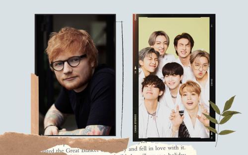 Ed Sheeran tiết lộ bài hay nhất trong album sắp phát hành của BTS