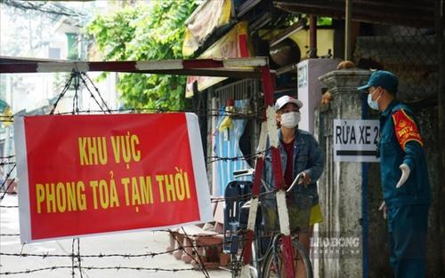 TP. HCM: Huyện Hóc Môn phong tỏa thêm 3 địa điểm để phòng chống dịch Covid- 19