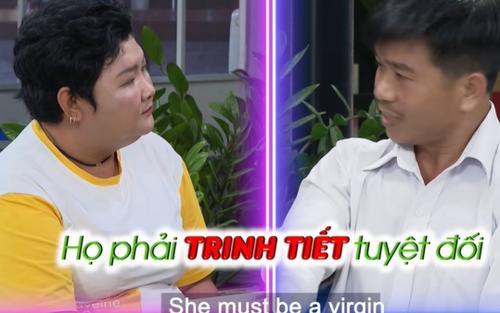 Người đàn ông U40 lên show hẹn hò tìm bạn gái còn trinh tiết, thái độ hành xử gây phẫn nộ