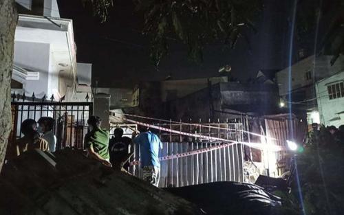 TP.HCM: Cháy nhà trong khu vực đang phong tỏa, 1 người phụ nữ tử vong
