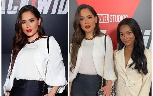 Tân Miss Universe đứng cạnh Hoa hậu Mỹ, fan thảng thốt: Bà chủ và cô hầu gái hay gì?