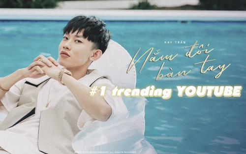 Bị chê tới tấp, bài mới của Kay Trần vẫn 'băng băng' #1 trending Youtube