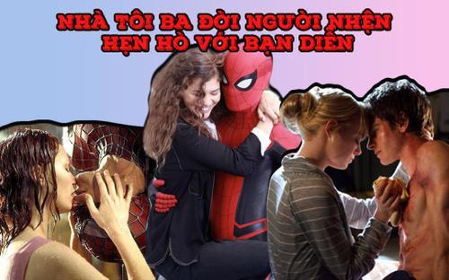 Ba đời Spider-man đều hẹn hò với người tình màn ảnh: Hai cặp đã 'toang', một cặp 'mới nhú'