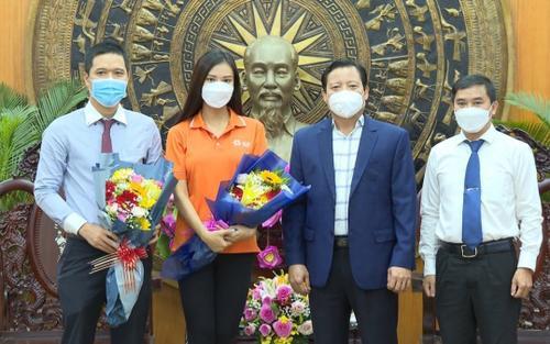 Á hậu Kim Duyên ủng hộ 100 triệu vào quỹ vaccine: Chung tay đẩy lùi dịch Covid-19