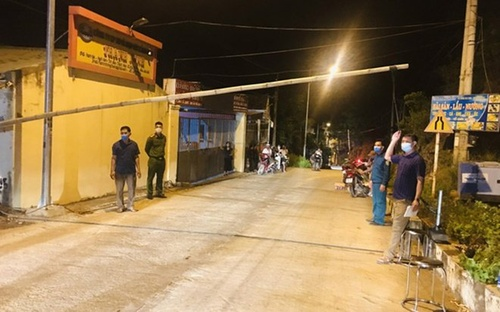 Nữ nhân viên nhà hàng từ TP.HCM về Thanh Hóa mắc COVID-19, phong tỏa tạm thời xã Nghi Sơn