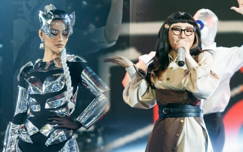 Lona biến đổi hình tượng chiến binh, Orange 'làm xấu' bất ngờ trên sân khấu The Heroes