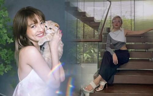 Sao Việt lên đồ long lanh chỉ để ngồi nhà chụp ảnh cùng thú cưng, mùa dịch vẫn không phụ lòng fan