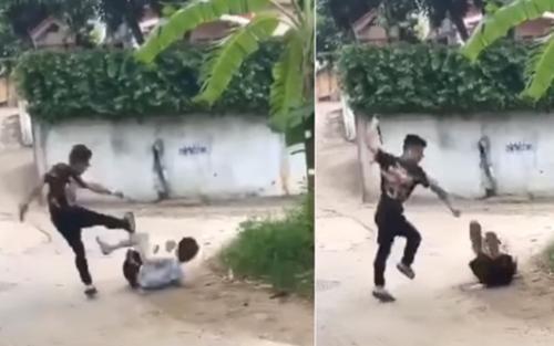 Tạm giữ kẻ dùng gậy hành hung dã man nam thanh niên mặc cho đối phương van xin