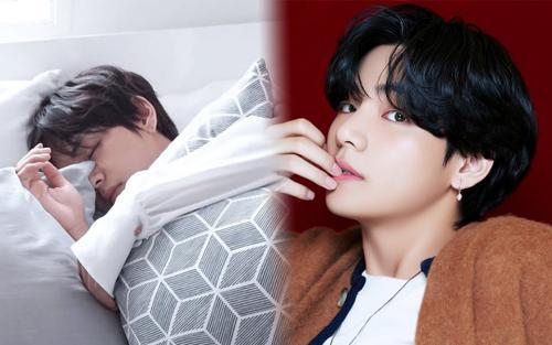 RM (BTS) bật mí thói quen ngủ cực 'lạ' của V