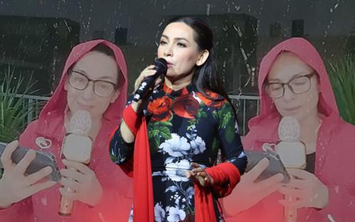 Gác lại ồn ào, Phi Nhung mở show 'cây nhà lá vườn' phục vụ văn nghệ tại gia