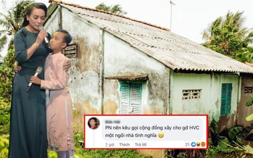 Bị mỉa mai việc xây nhà cho Hồ Văn Cường, Phi Nhung: 'Gia đình Cường làm được, không phải kêu gọi ai'