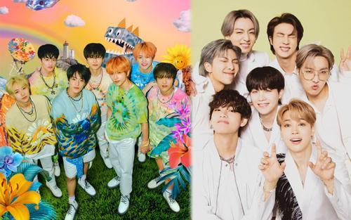 Số lượng album bán ra của các công ty lớn nửa đầu năm 2021: NCT Dream vượt mặt BTS