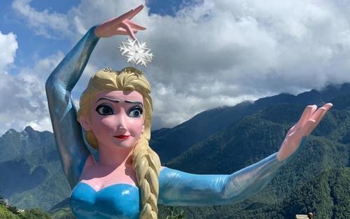 Phiên bản Elsa 'mặt gãy mắt lác' ở Sa Pa khiến dân tình khóc thét, chính quyền nói gì?