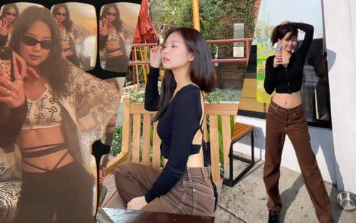 Từ ngày qua Mỹ làm việc, Jennie Black Pink liên tục 'ăn mặc' hở hang cực sành điệu