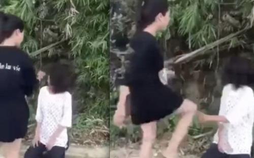 Vụ nữ sinh phải quỳ dưới đất, liên tục bị đá vào mặt ở Lào Cai: Cơ quan chức năng vào cuộc điều tra