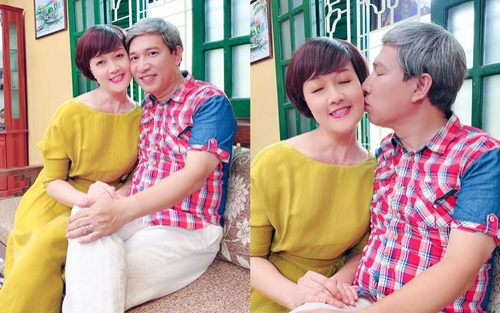 Vân Dung khoe ảnh ôm hôn 'tình bể bình' bên Quang Thắng: Hai cây hài đình đám sắp tái hợp?